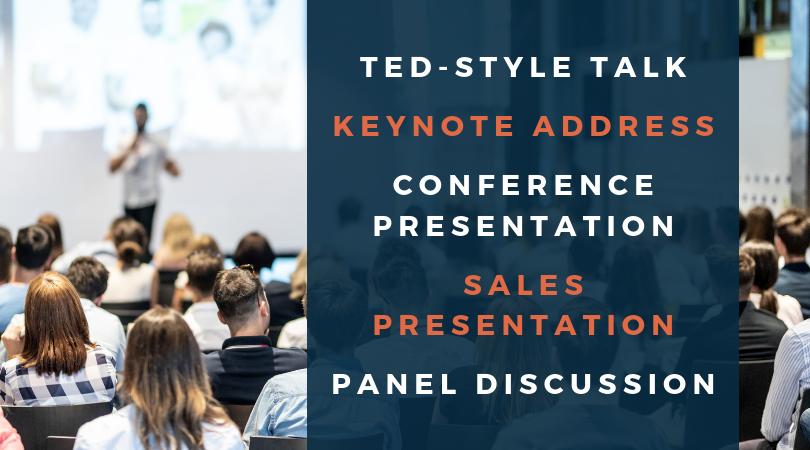 Talks, Keynotes, and Presentations