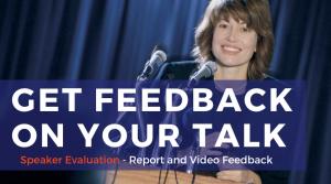 Get Feedback on your Talk